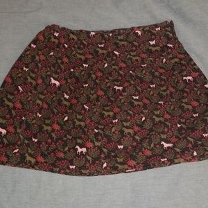Lands End corduroy skirt